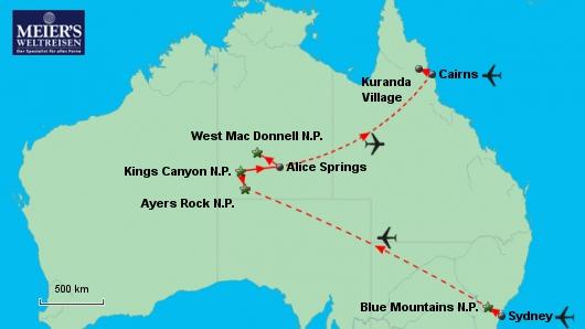 Australien zum Kennenlernen
