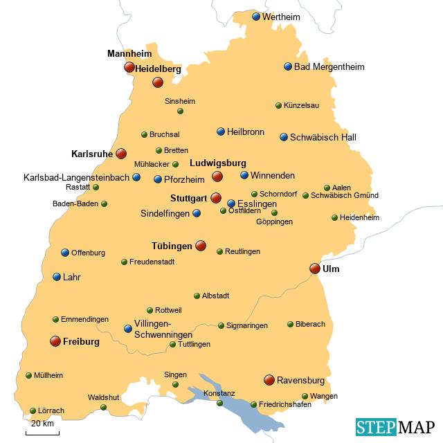 Landkreise Bawü
