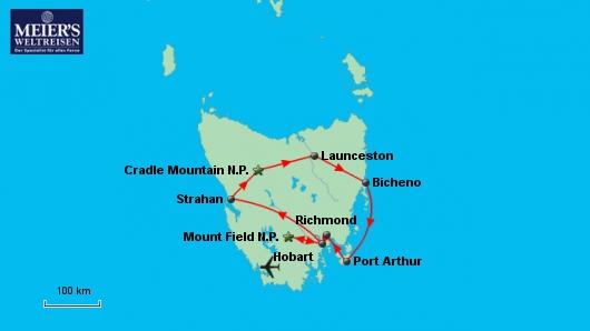 Tasmanien für Genießer