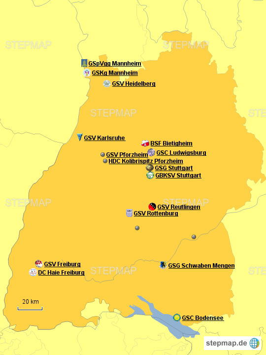 Mitgliedsvereine GSV Baden-Württemberg