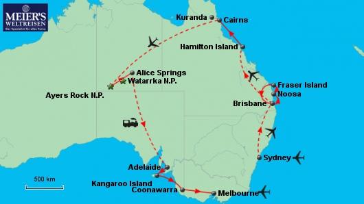 Die Schätze Australiens
