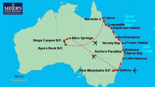 Spektakuläres Australien
