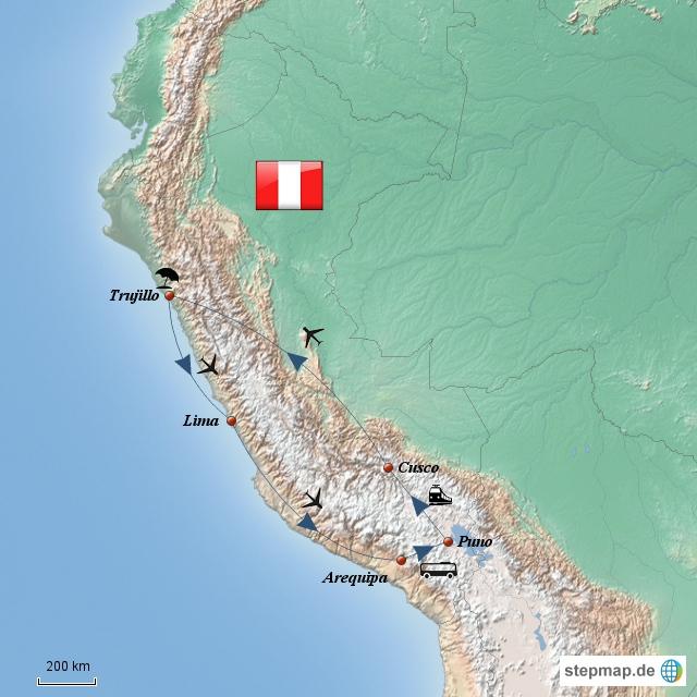 Peru Round Trip 2013