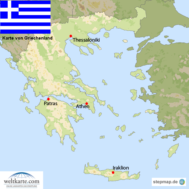 weltkarte griechenland Landkarte Griechenland (Übersichtskarte) : Weltkarte.  Karten  weltkarte griechenland