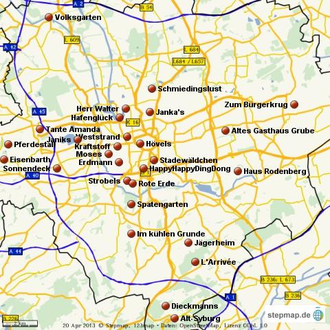 Biergärten in Dortmund