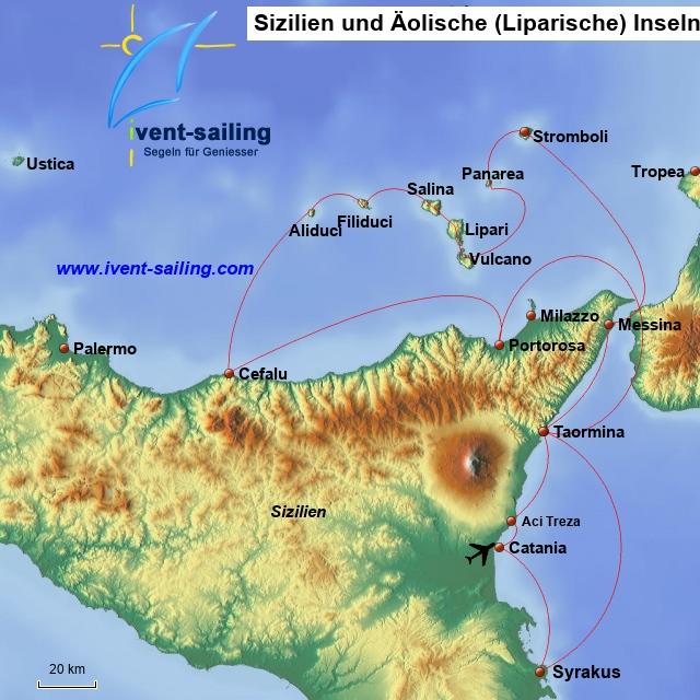Sizilien Äoilische Inseln