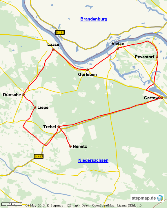 Elbe-Heide-Radtour