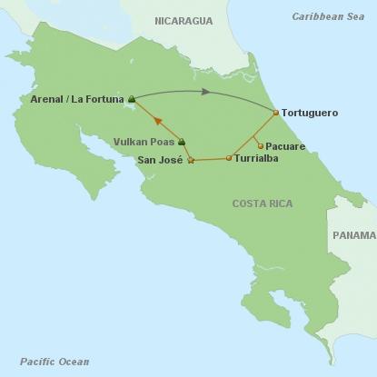 Costa Rica Spirit of the Rainforest