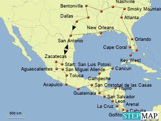 Reiseverlauf Teil 2