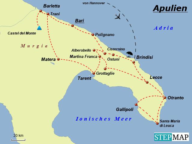 Apulien Reise 2011