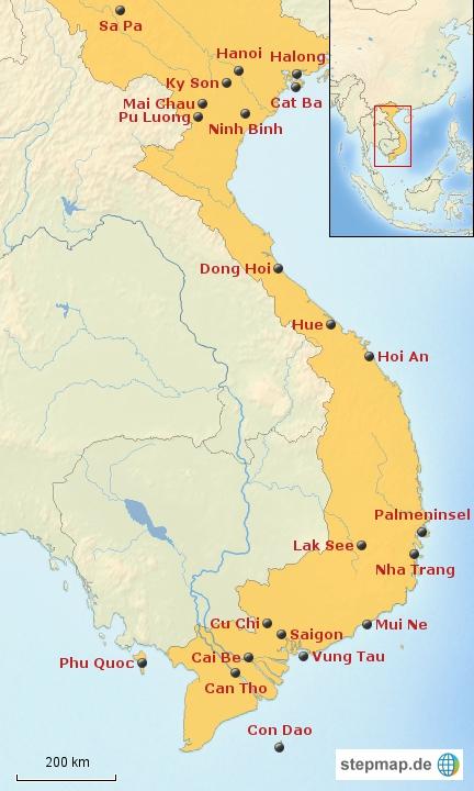 Vietnam: Bausteinübersicht