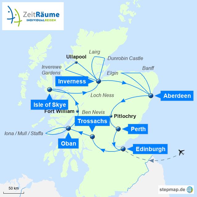 Schottland - Große Schottlandtour
