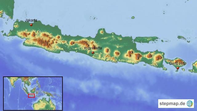 Die Insel Java: Wir starten in der Hauptstadt Jakarta
