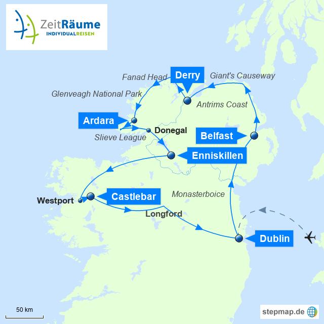 Irland Gruppenreise - Best of Nordirland
