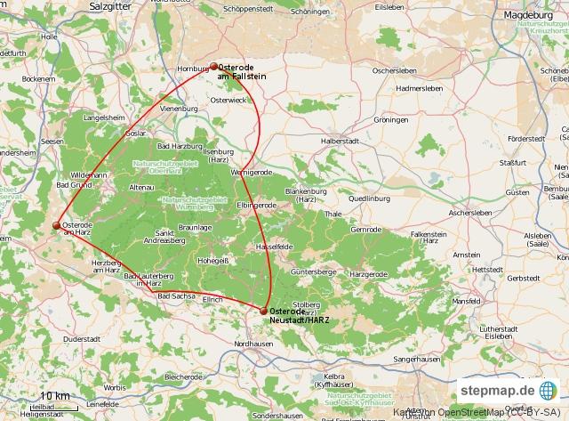 Von Osterode über Osterode und Osterode nach Osterode ;-))