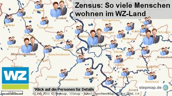 Zensus im WZ-Land