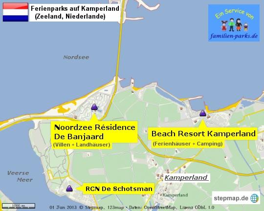 Ferienparks Kamperland Zeeland