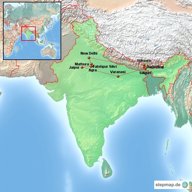 Altmockritz on Tour in Nordindien