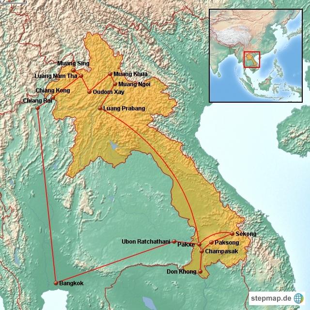 Altmockritz on Tour in Laos