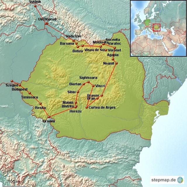 Altmockritz on Tour in Rumänien