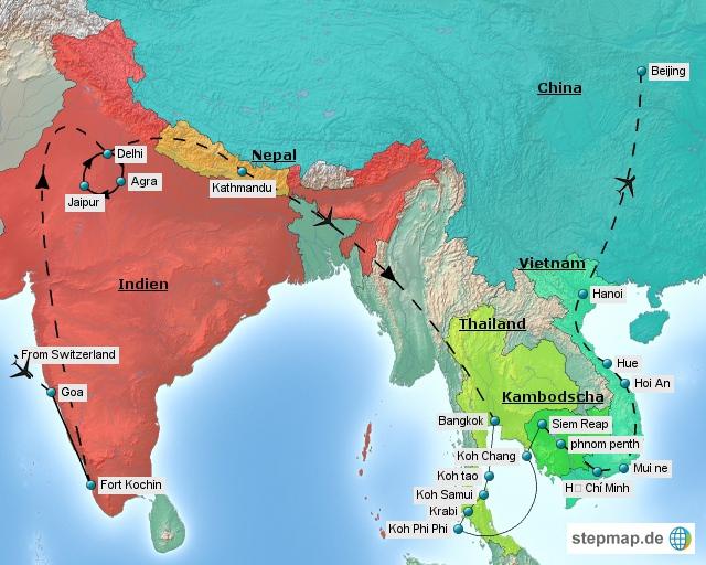 Detail Asien