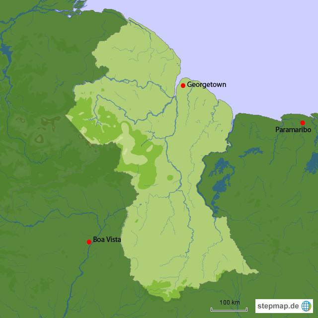 Länderinfos Guyana