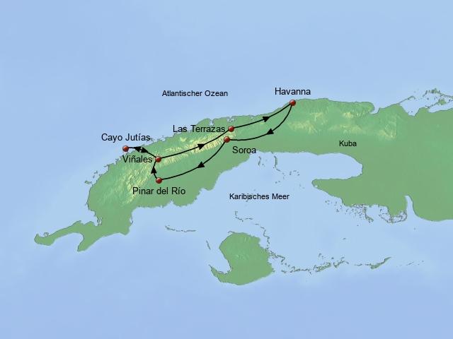 Das Kuba der 50er Jahre West