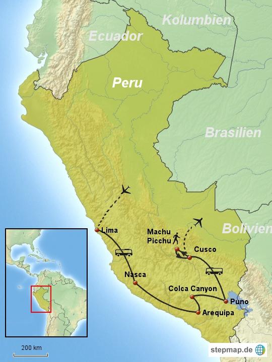 Linienbus Peru