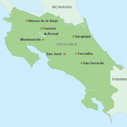 Costa Rica a la carte Hotels