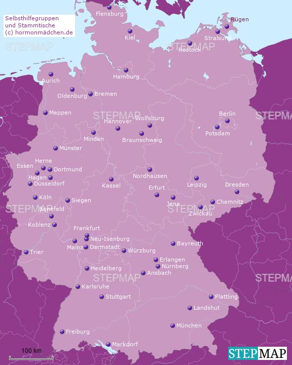 SHGs und Stammtische (c) Hormonmädchen.de