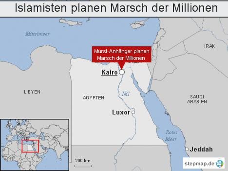 Islamisten planen Marsch der Millionen