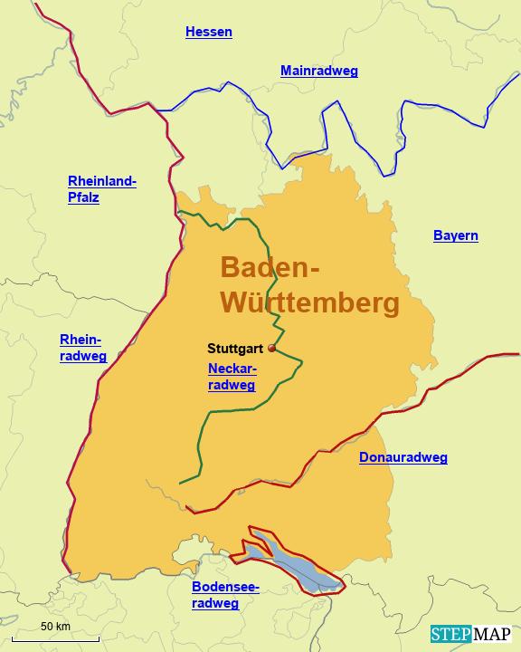 Baden Wurttemberg Fahrradtouren In Deutschland
