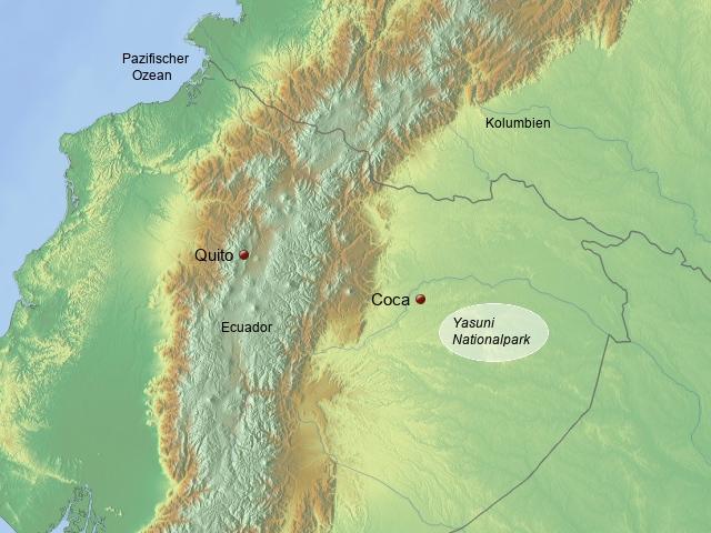 Flusskreuzfahrten Ecuador