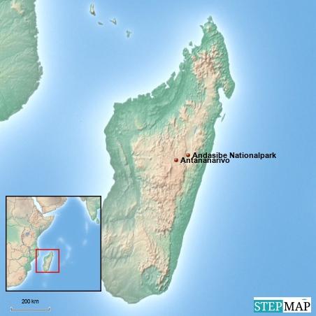 Madagaskar wäre allein eine mehrwöchige Reise wert, ich werde aber nur Antananarivo und den Andasibe-Nationalpark sehen können.