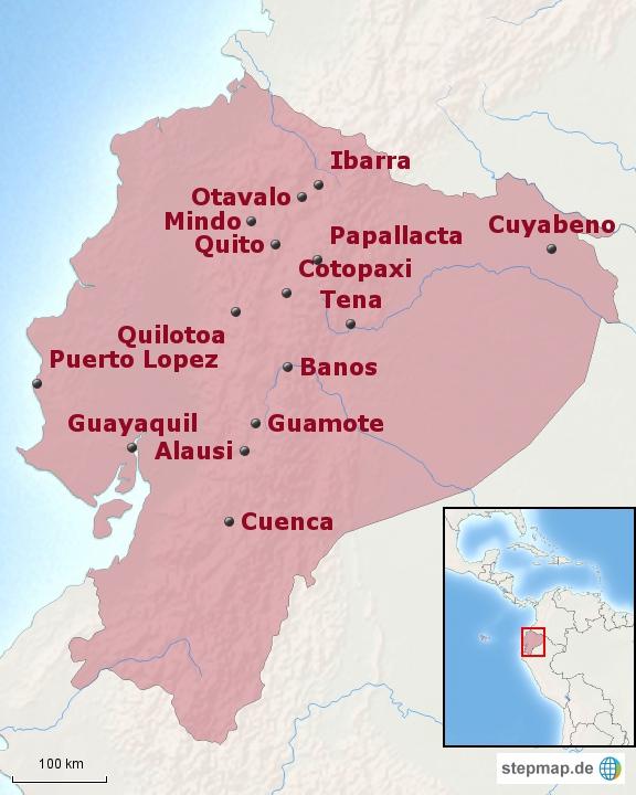 Ecuador: Bausteinübersicht