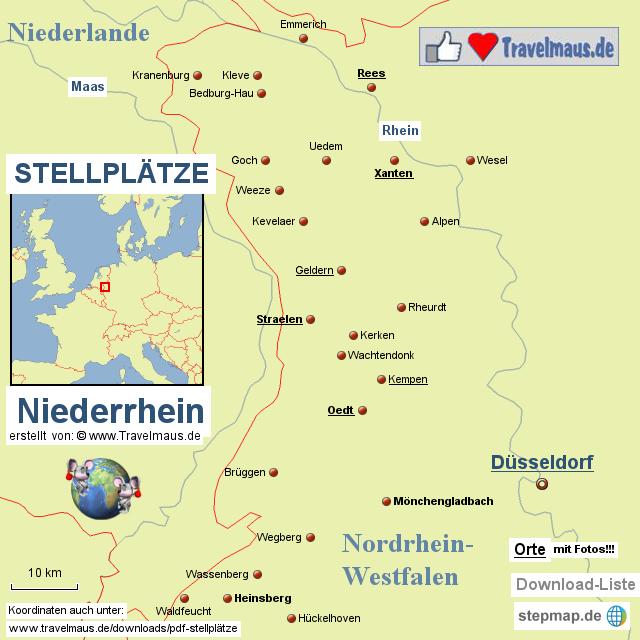 Stellplätze Niederrhein