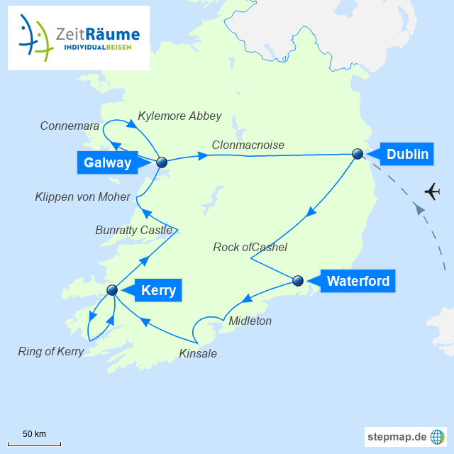 Irland - Kulinarische und historische Schätze - Busrundreise