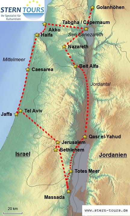 Klassisches Israel zum Sparpreis