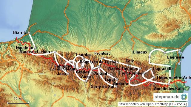 Pyrenäenreise