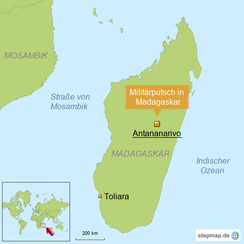 Militärputsch in Madagska