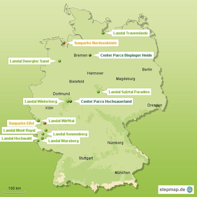 Ferienparks in Deutschland