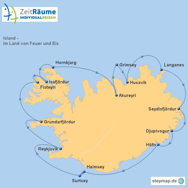 Island - Im Land von Feuer und Eis