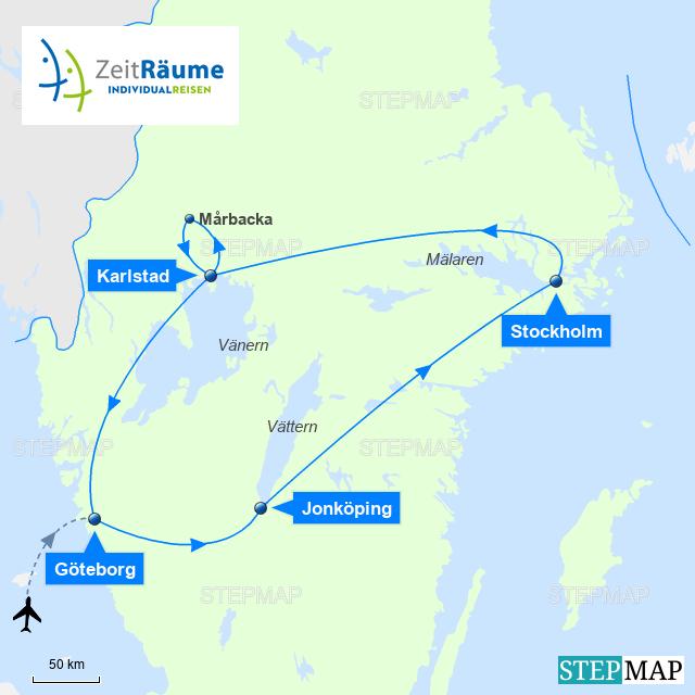Anreise Zur Insel Wangerooge Mit Dem Auto Pkw: Auszeit In Västergötland Und