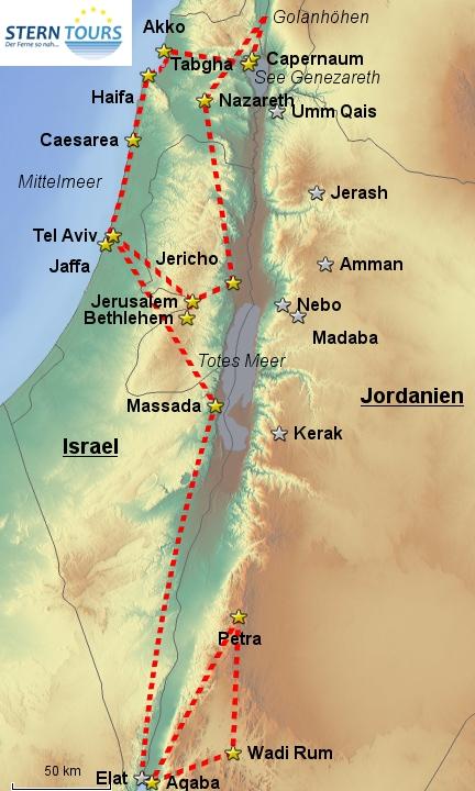 Israel & Jordaniens Schätze