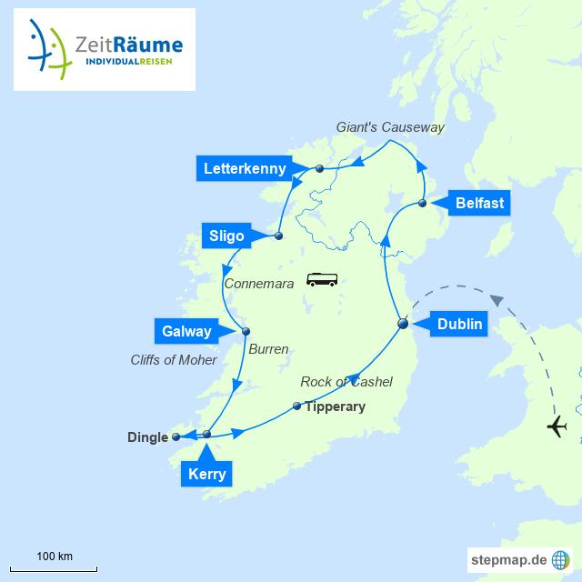 Irland - Irlands Norden und Süden entdecken