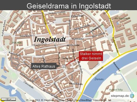 Geiseldrama in Ingolstadt
