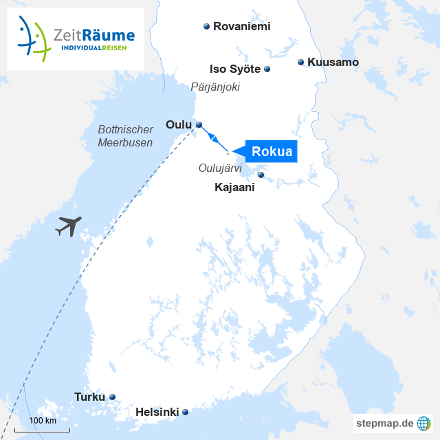 Finnisch-Lappland - Nationalpark Rokuanhovi