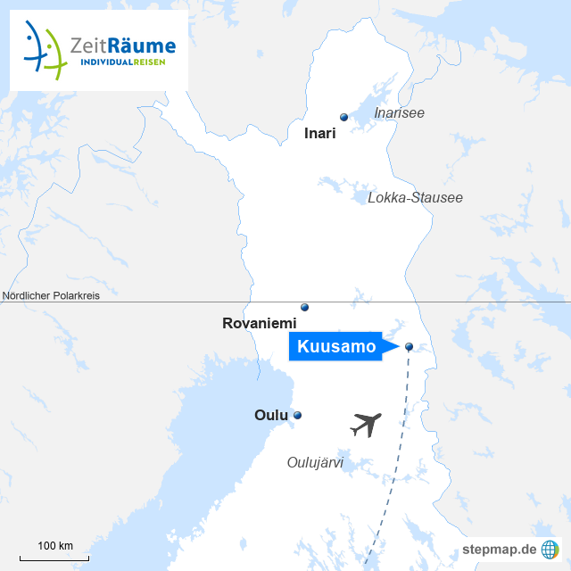 Lappland Winter Reise - Kuusamo Winterauszeit für Körper und Geist