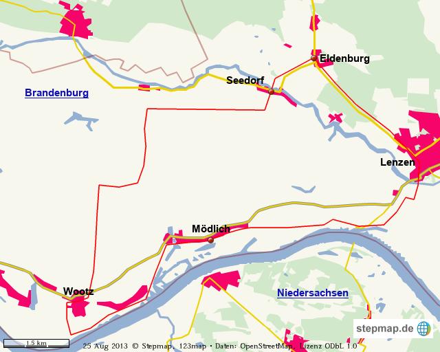 Lenzerwische Radtour
