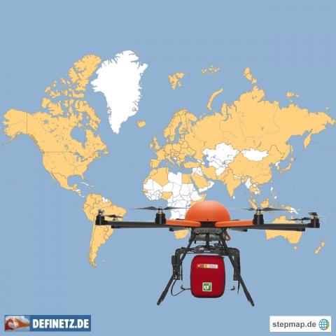 Berichterstattung defikopter
